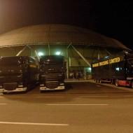 Area parcheggi: 3.000 posti auto, 30 pullman, 24 truck