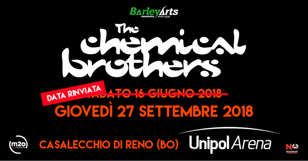 The Chemical Brothers: rimandata a settembre la data di Bologna
