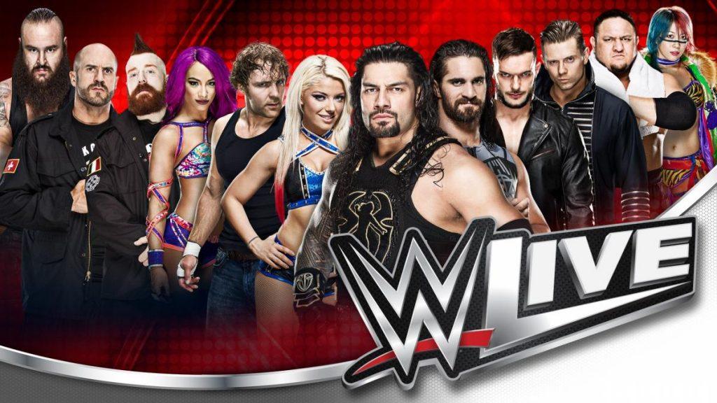 WWE LIVE! Il Wrestling torna all'Unipol Arena il 9 novembre 2018