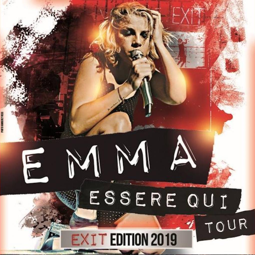 Emma Marrone all'Unipol Arena il 23 febbraio 2019