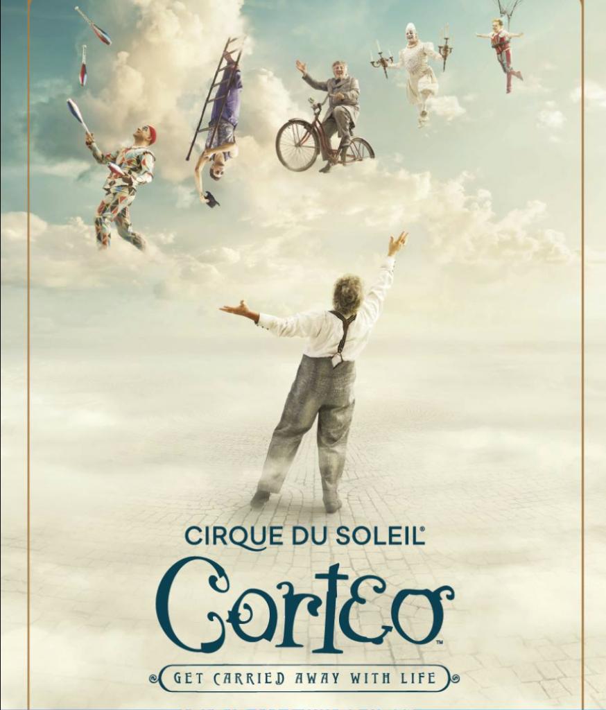 In bus al Cirque du Soleil