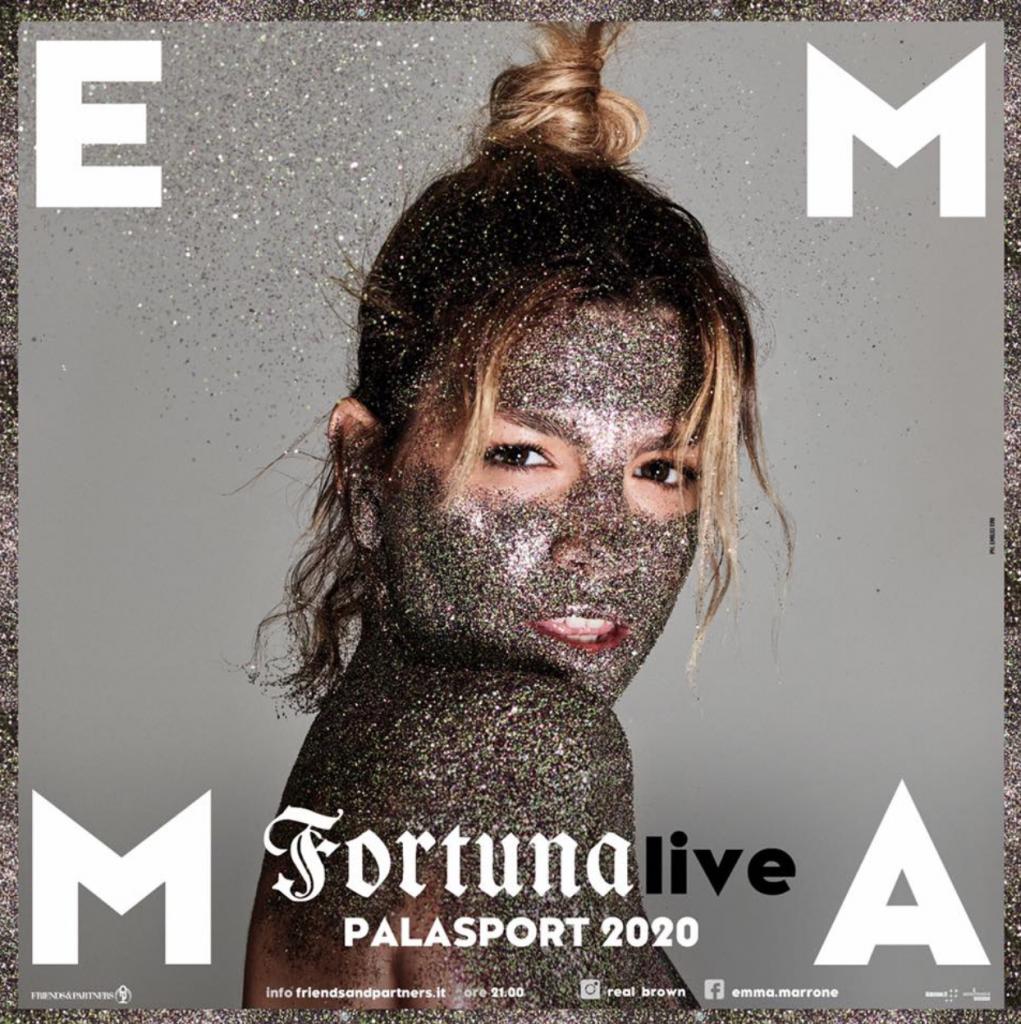 Emma Marrone all'Unipol Arena il 23 ottobre 2020