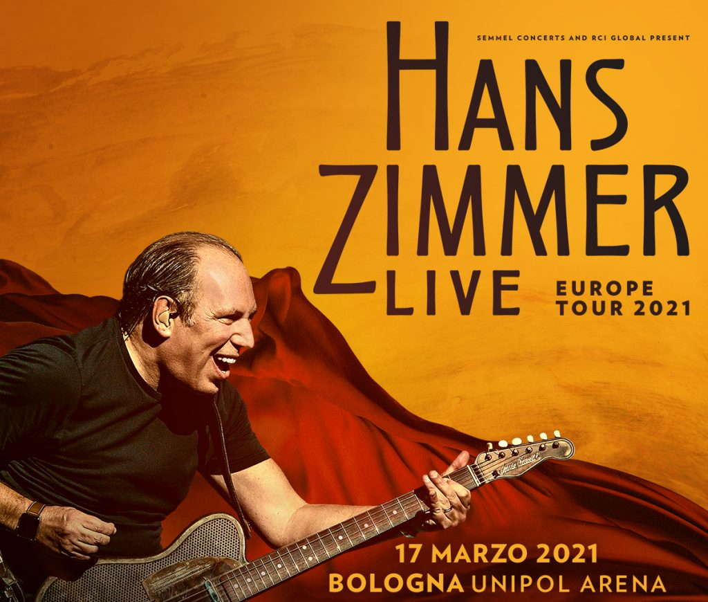 HANS ZIMMER LIVE – 17 marzo 2021