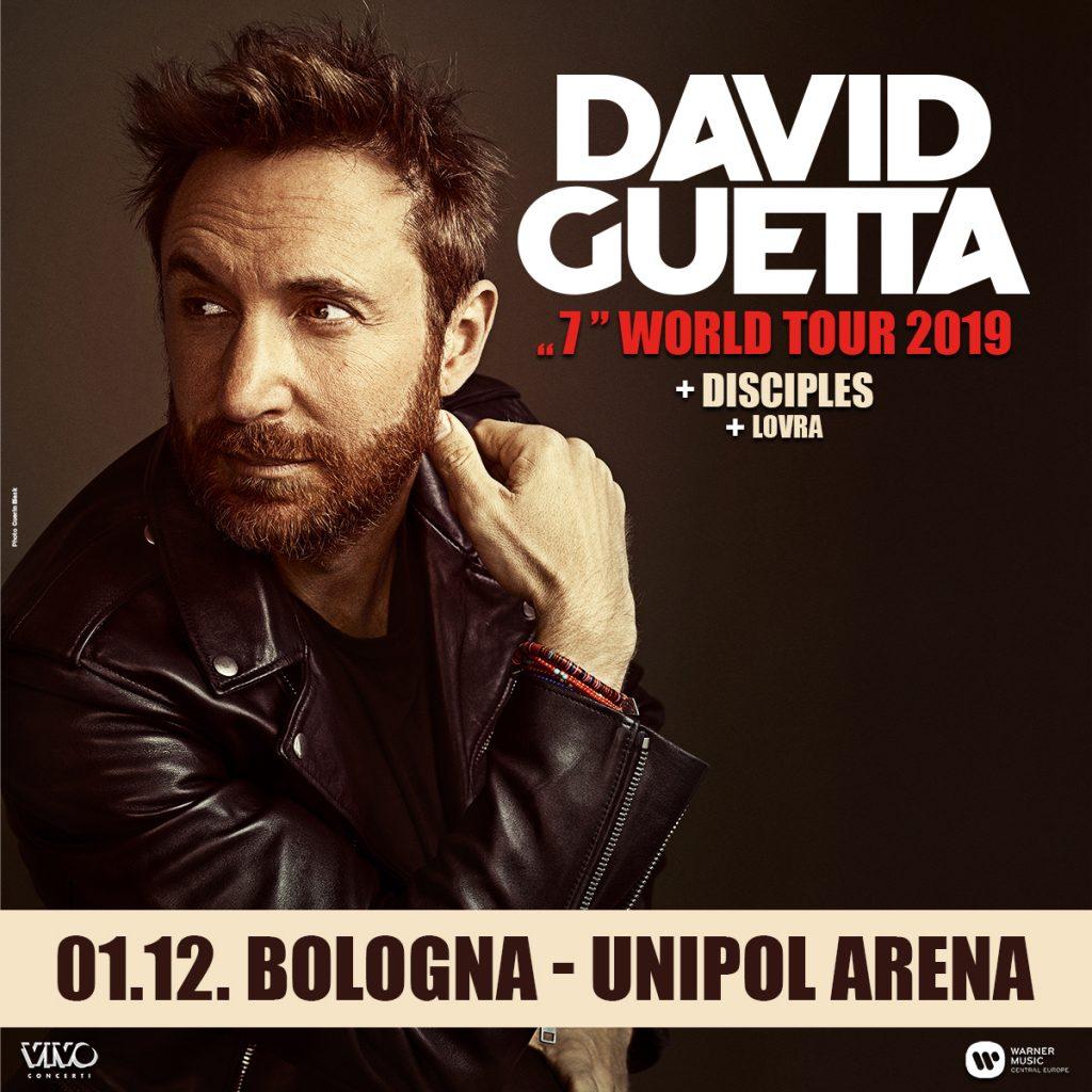 In bus al concerto di David Guetta