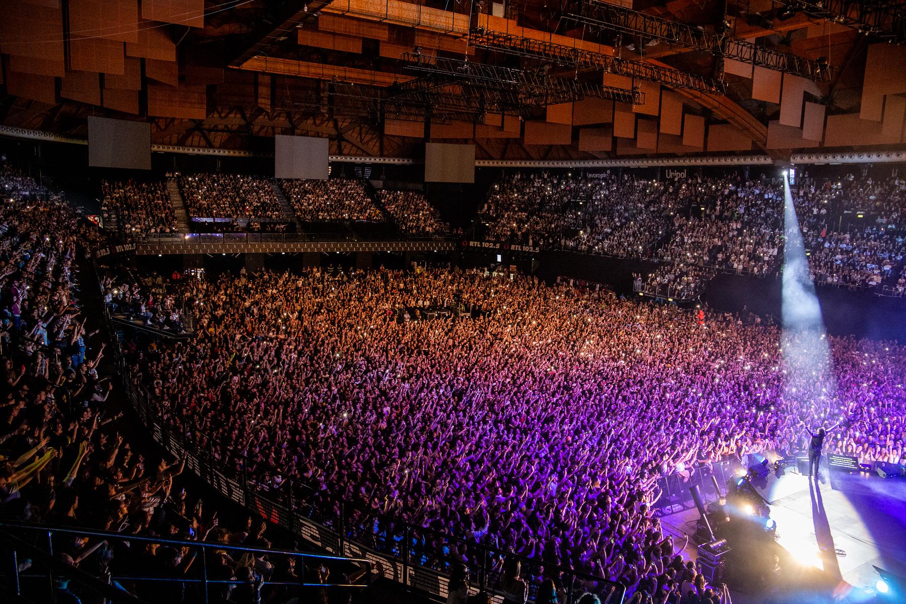 Lo splendido sold out di Ultimo all'Unipol Arena | Unipol Arena