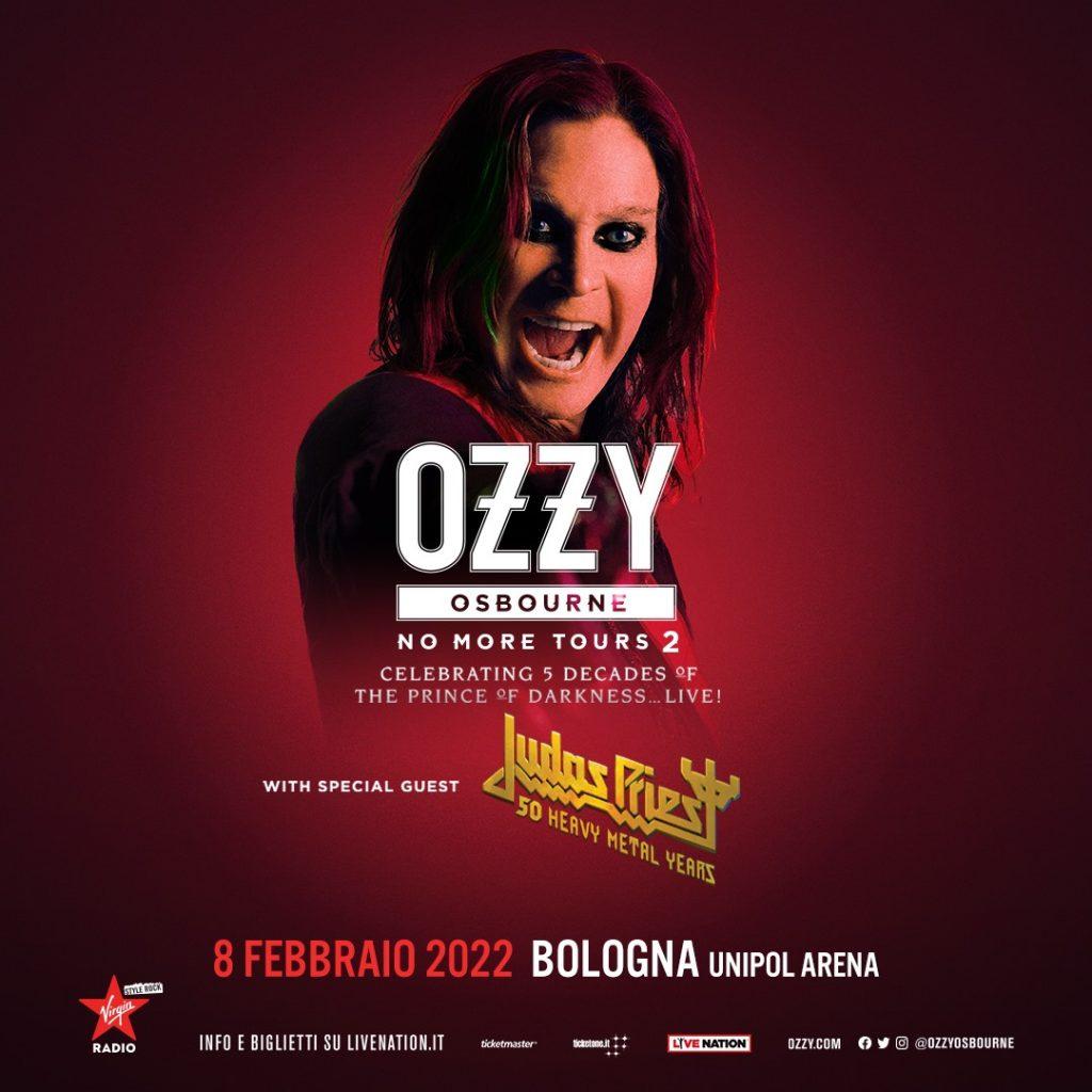 """OZZY OSBOURNE RIPROGRAMMATE LE DATE DEL  """"NO MORE TOURS 2"""""""